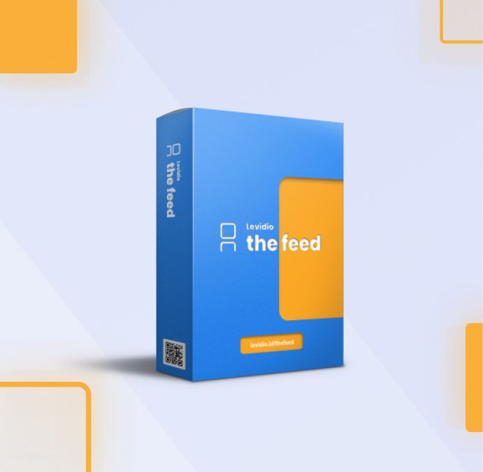 download template levidio the feed gratis